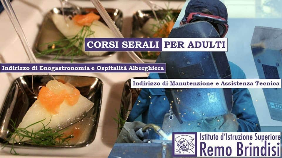 Corsi Serali Per Adulti Istituto D Istruzione Superiore Remo Brindisi